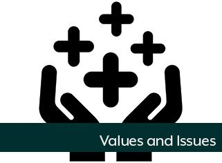 Values and Issues Web