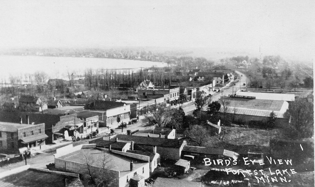 Historical Aerial View of Forest Lake